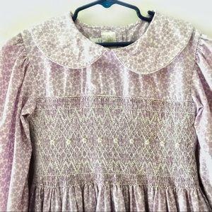 {Strasburg, 10Y} lilac purple Smocked dress